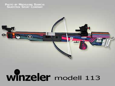 WINZELER MATCH CROSSBOWS | Model 113  for 10m distance | Modell fuer 10m Distanz | mod�le pour 10m distance
