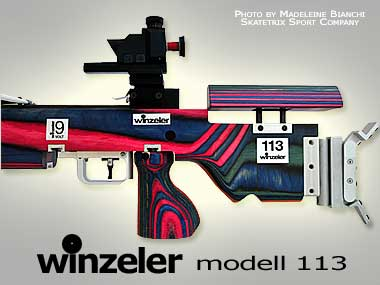 WINZELER MATCH CROSSBOWS | model  113 can be adapted completely to the individual needs of its shooter!
