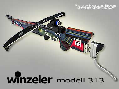 WINZELER MATCH CROSSBOWS | Model 313  for 30m distance | Modell fuer 30m Distanz | mod�le pour 10m distance | ©Photo by MADELEINE BIANCHI of Skatetrix Sport Company